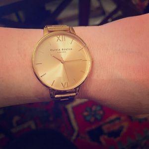 Olivia Burton London Rose Gold Metal Watch